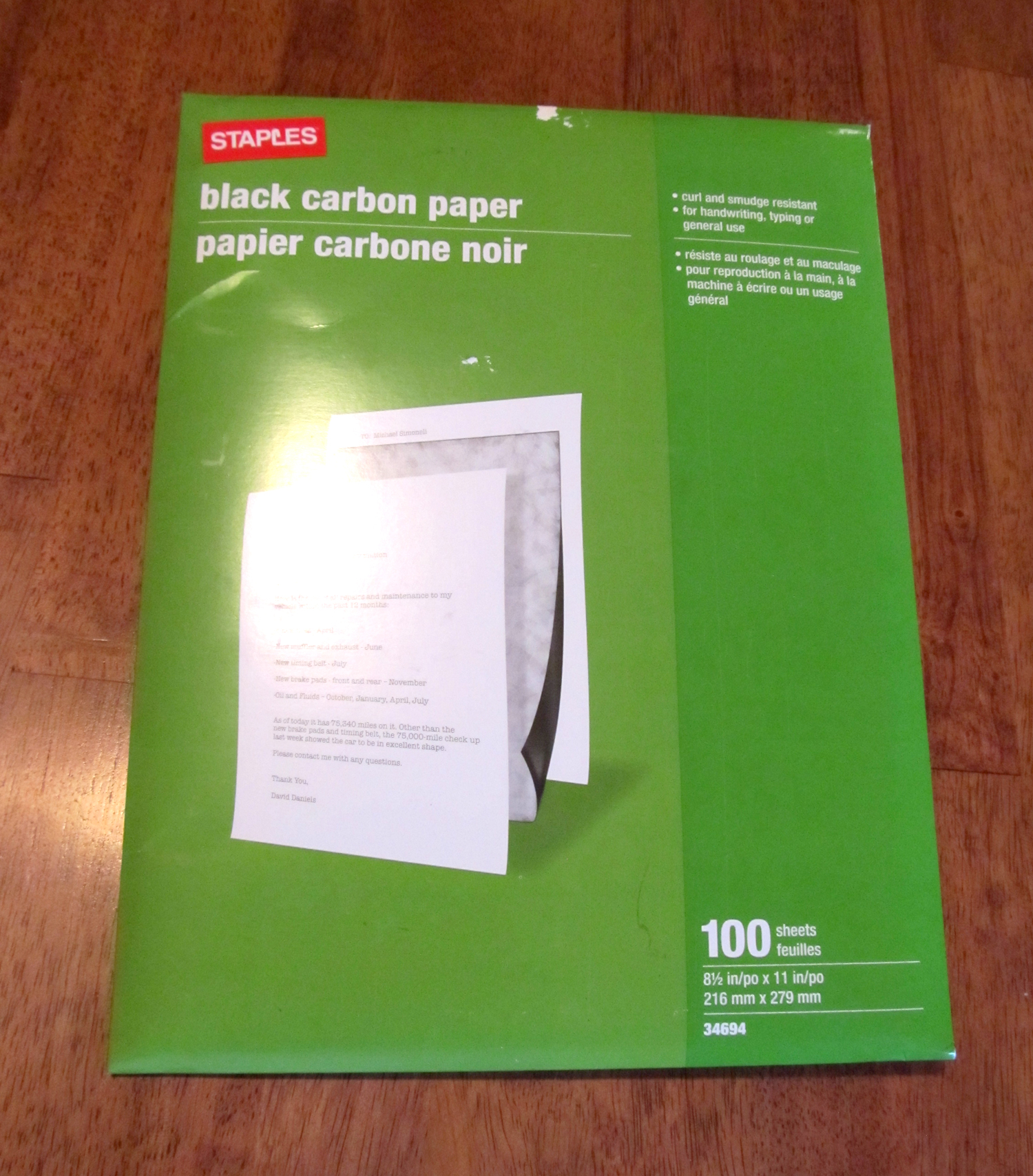 carbon paper Product description dalton manor a4 carbon paper colour black also available in blue and red.